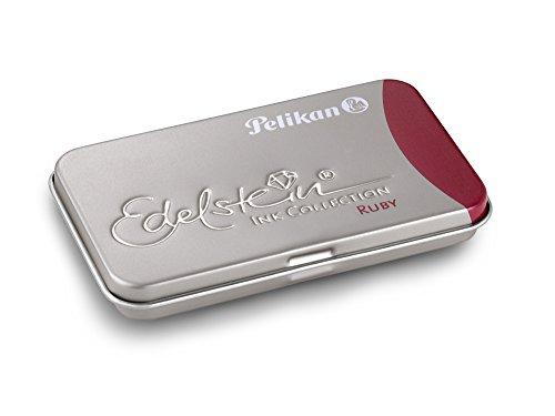 Pelikan Cartuchos de tinta Edelstein ruby (rojo) (6 cartuchos)