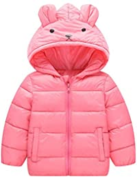Abrigo para bebé con capucha,Yannerr Chica niña niño dibujos animados encapuchadas chaqueta de invierno caliente parka outwear