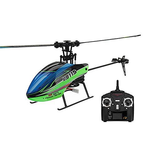 Gxscy RC Helicopter V911S 2.4G 4CH 6G 6-Gyro Simple Propelller d'intérêt d'Aix Non Ailerons RC hélicoptère avec Gyroscope Télécommande RTF Jouets Cadeau for Les Enfants