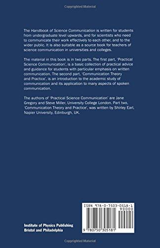 Handbook of Science Communication