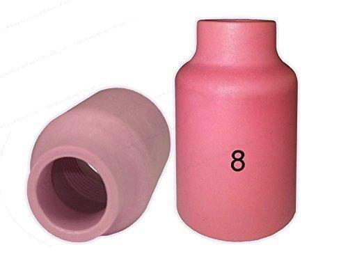 Preisvergleich Produktbild 1 oder 10 Keramische Gasdüsen Gaslinsen Ausführung für SR17 SR18 SR26 HP17 WP17 SR-17 TIG/WIG Brenner