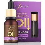 Elansa 100% Pure Lavender Essential Oil, 15ml