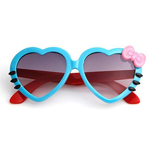 ZHENCHENYZ Mode Sommer Cartoon Niedlichen Herz Bogen Katze Sonnenbrille Brille Eyeware Für Kinder Mädchen Jungen Kind