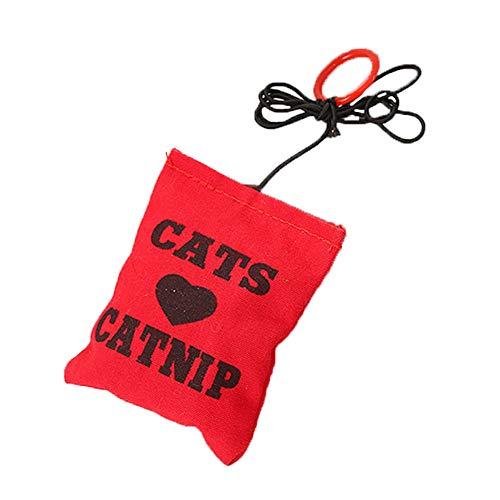 1 Stück Katze Katzenminze Spielzeug Niedlich Tasche Design Katze Spiele Kauen Zähne Reinigungs-Spielzeug Scratch Pet Spielzeug Katzen Interactive Toy -