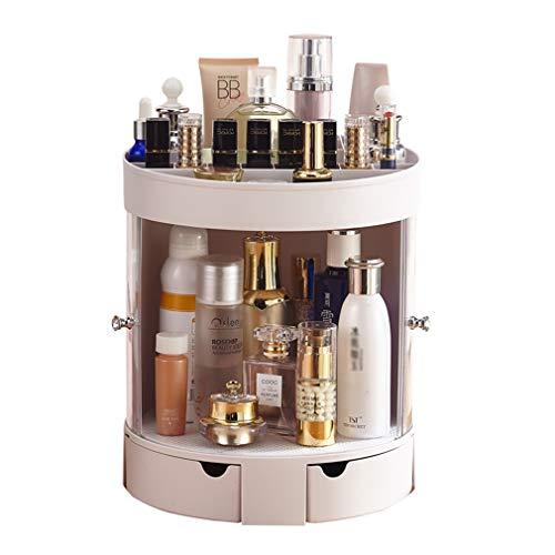 Organisateur de Maquillage pour Bijoux Cosmétiques Et Parfums Présentoir Crystal Clear Avec une Grande Capacité de Stockage