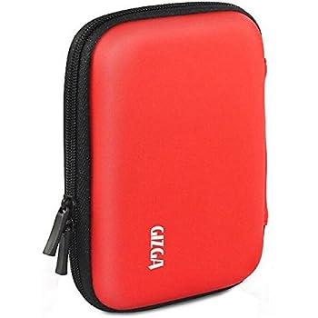 GIZGA 2.5 inch Hard Drive Disk Case (Red)