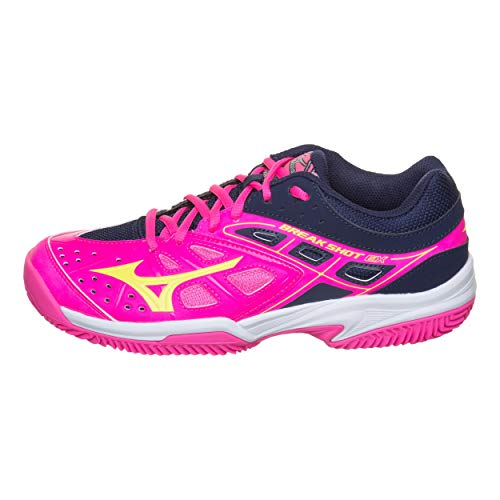 Mizuno Damen Tennisschuhe Outdoor Break Shot EX CC Multicolor (90) 41EU