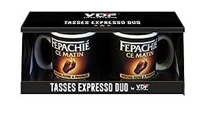 Duo Tasses Expresso Fepachié ce Matin