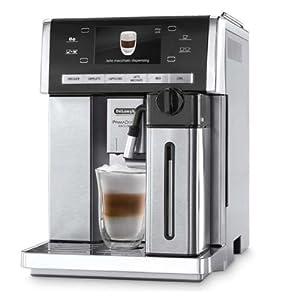 DeLonghi ESAM 6900.M - PrimaDonna Exclusive Bean-to-cup machine - silver