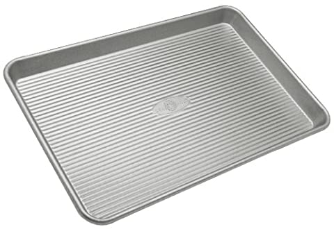 USA Pan Bakeware Jelly Roll Pan, Warp Resistant Nonstick Baking Pan, Made in the USA from Aluminized