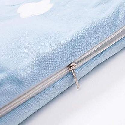 Syeed Saco de Dormir de algodón para bebés Saco de Dormir para bebés de Manga Larga Invierno 0-3 años Recién Nacido sobre