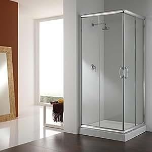 cabine paroi douche 70x70 h185 transparent 6mm mod alabama cuisine maison. Black Bedroom Furniture Sets. Home Design Ideas