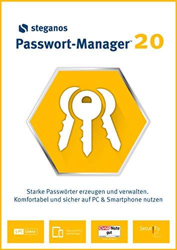 Steganos Passwort-Manager 20 - PKC
