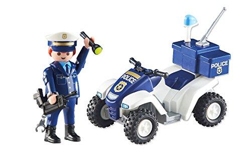 Playmobil 6504-2. Vehiculo Quad Jefe Policia