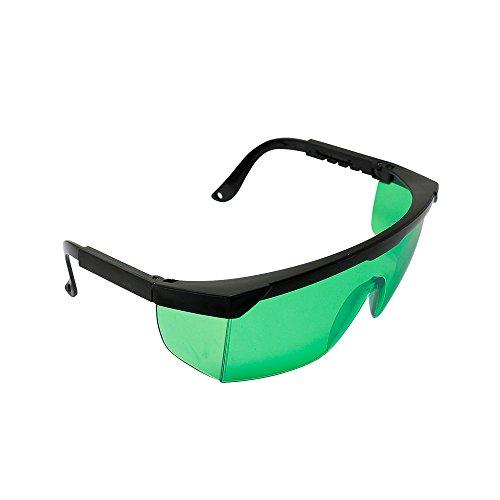 Q-BAIHE 400nm-450nm Violett/blau Laserschutzbrille Schutzbrille