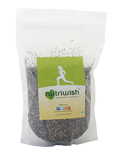Nutriwish Premium Chia Seeds, 350g  available at amazon for Rs.390
