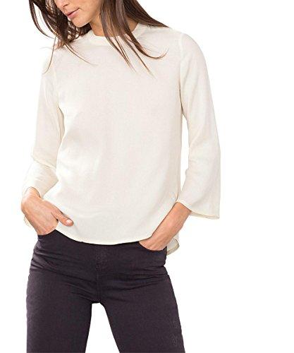 ESPRIT 116EE1F030, Camicia Donna, Bianco (Off White), 34
