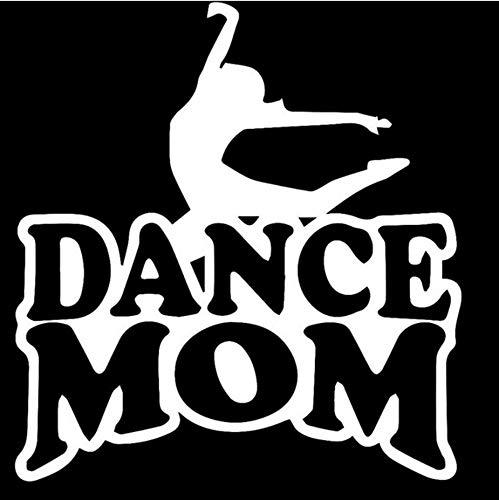 Zybnb 21,3 Cm * 22,9 Cm Dance Mom Auto Auto Lkw Stoßfänger Fenster Sport Auto Aufkleber Reflektierende Vinyl Styling Schwarz Weiß-3Stk (Dance Moms Halloween)