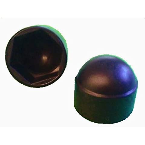 50pezzi esagonale tappo di protezione M8–Chiave 13mm, colore nero–calotte di copertura - Chiave Esagonale 13 Pezzo