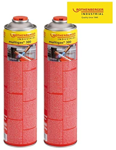 Rothenberger Multigas-Vorteilspack 2x 600 ml