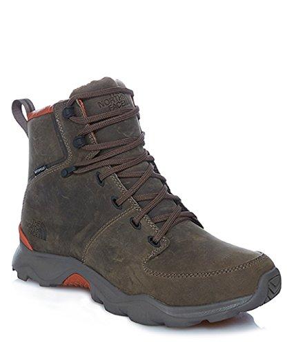 Les bottes North Face Thermo balle Versa Hommes de randonnée T92T5AKX7 Noir Marron