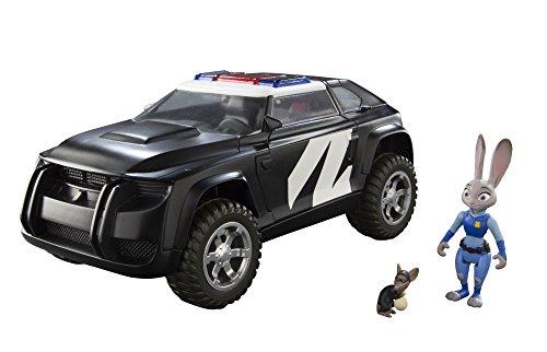 Tomy Zootropolis Polizia Cruiser Veicolo Con Judy E Mouse Perpetue (Multi-Colour)
