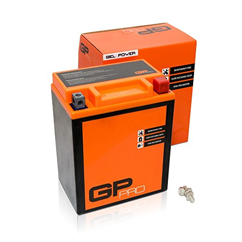 Batterie 12V 12Ah Gel GP-Pro (TYP - CB14L-A2 / ähnlich YB14L-A2) (versiegelt / wartungsfrei)