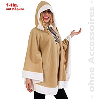 Fritz Fries & Söhne GmbH & Co Costume Eskimo Anyu Unisex One Size Fits All Indians Viking disguise carnival