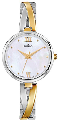 Dugena Women's Analogue Quartz Watch with Stainless Steel Strap 4460668
