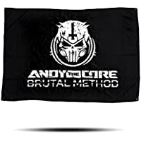 """Andy The Core """"Brutal Method"""" Flag - """"100x150cm"""""""