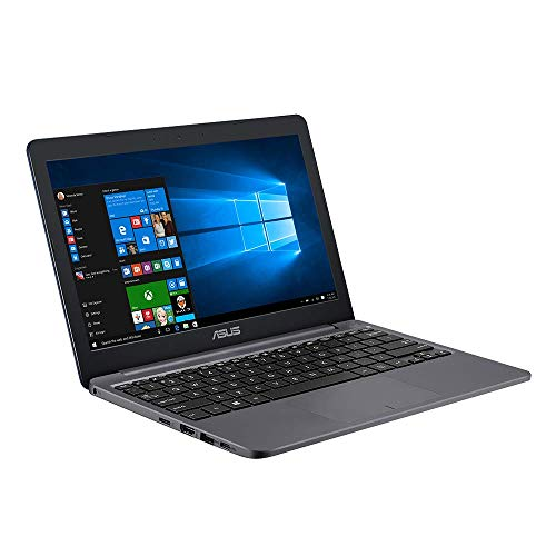 ASUS E203MA (90NB0J02-M04220) 29,4 cm (11,6 Zoll, HD) Notebook (Intel Celeron N4000, Intel UHD-Grafik 600, 4GB RAM, 64GB eMMC, Windows 10S + Office 365) Star Grey