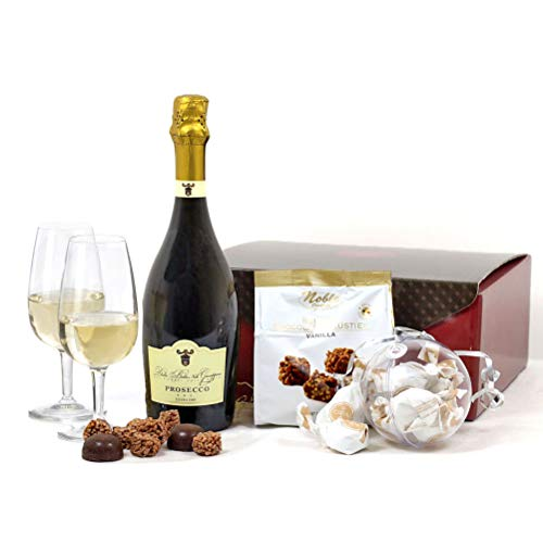Hay Hampers Prosecco, Chocolates & Pralines Gift Hamper Box