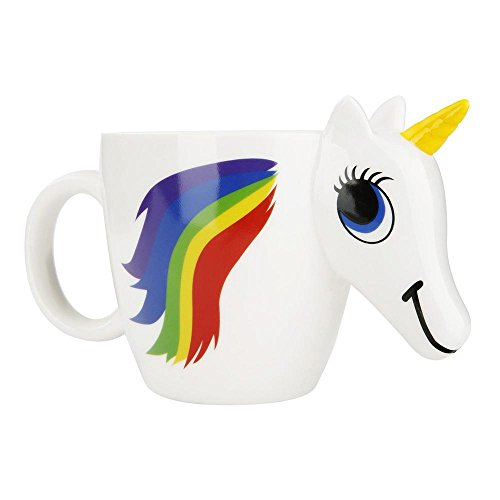 Einhorn-Becher, MI-EShop Farbwechsel personalisierte Kaffeetassen