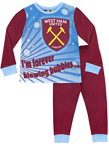 47bac69fa2d5e West Ham United FC Pijamas de Manga Larga para niños Football Club 9-10 Años