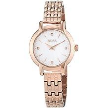 Hugo BOSS Damen-Armbanduhr, Rosegold Stahl/Perlmutt, 1502379