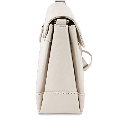 Picard , Sac pour femme à porter à l'épaule beige ivoire 28cm x 20cm x 9cm (B x H x T) ivoire