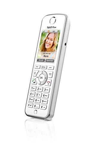 AVM FRITZ!Fon C4 Telefon (Farbdisplay, beleuchtete Tastatur) weiß, deutschsprachige Version - 2