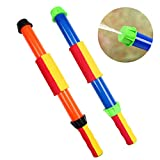 OWUDE Water Pistols 2 Pack Set Super Water Blaster with Foam Handle Water