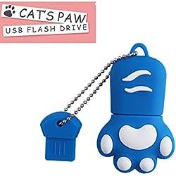 FeliSun USB 3.0 Flash Drive Cartoon Cat Paw Pen Drive Alta Velocidad Real Capacidad 16GB Descargar Almacenamiento USB Stick Pendrive