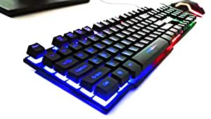 Tech-Com USB Rainbow 999 Gaming Keyboard