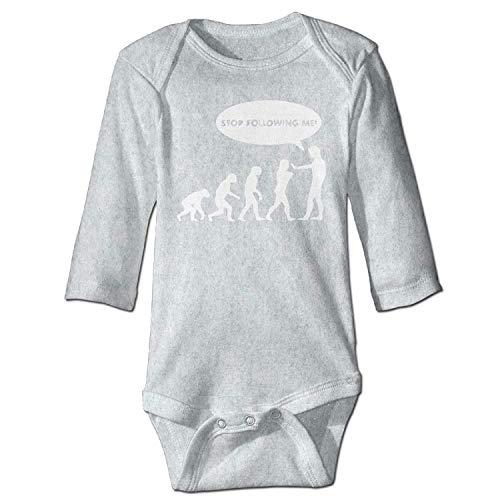 Caveman Outfits - MSGDF Unisex Infant Bodysuits Evolution Stop