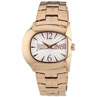 Just Cavalli Reloj para Mujer de Cuarzo con Correa en Acero Inoxidable R7253525504