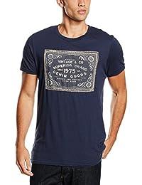 Jack & Jones Vintage Jjvben Ss Tee Crew Neck, T-Shirt Homme
