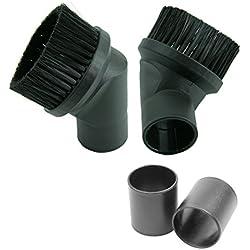 Luftmaxx cepillo para muebles 32/35 mm boquilla de la aspiradora cepillo para polvo cepillo de polvo para hyla Pro aguamarina del arco iris Lura favorable aire de Dolphin Miele AEG Bosch Siemens aspiración centralizada