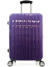 PARTYPRINCE Valise Bagage taille 68 cm ABS ultra léger rigide 4 roulettes 70L