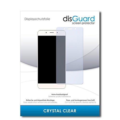 disGuard® Bildschirmschutzfolie [Crystal Clear] kompatibel mit Hisense C1 [4 Stück] Kristallklar, Transparent, Unsichtbar, Extrem Kratzfest, Anti-Fingerabdruck - Panzerglas Folie, Schutzfolie