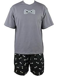 Pyjashort Noeud papillon en coton Achile