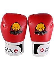 Gants Kickboxing Formation pour Enfants en Cuir PU Sac de Frappe d'entraînement