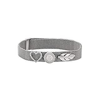 GMK Collection by CHRIST Damen-Armband Edelstahl Zirkonia One Size, silber
