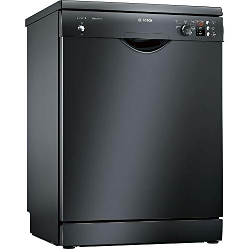 41whRQyYPJL. SS500  - Bosch Serie 2 SMS25AB00G ActiveWater 60cm Freestanding Dishwasher with 12 Place Settings, A++ Energy Rating, Delay Timer and Load Sensor (Black)